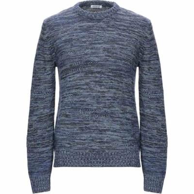 ビッケンバーグ BIKKEMBERGS メンズ ニット・セーター トップス sweater Dark blue