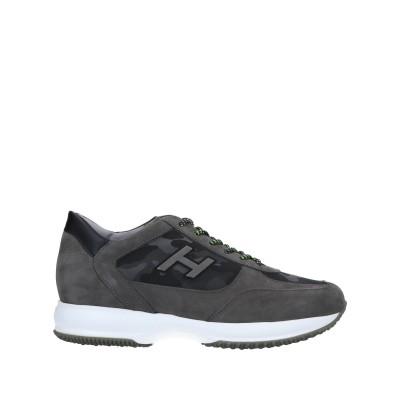 ホーガン HOGAN スニーカー&テニスシューズ(ローカット) 鉛色 10.5 革 / 紡績繊維 スニーカー&テニスシューズ(ローカット)