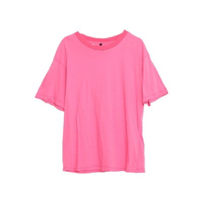BEN TAVERNITI™ UNRAVEL PROJECT T シャツ フューシャ XS コットン 100% T シャツ