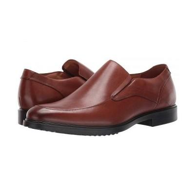 Hush Puppies ハッシュパピーズ メンズ 男性用 シューズ 靴 ローファー Turner MT Slip-On - Cognac Waterproof Leather