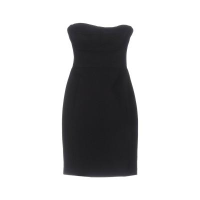 DKNY ミニワンピース&ドレス ブラック 8 コットン 71% / ナイロン 24% / ポリウレタン 5% ミニワンピース&ドレス
