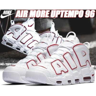 NIKE AIR MORE UPTEMPO '96 white/varsity red-white 921948-102 ナイキ エアモアアップテンポ 96 スニーカー モアテン ホワイト レッド  モア アップテンポ