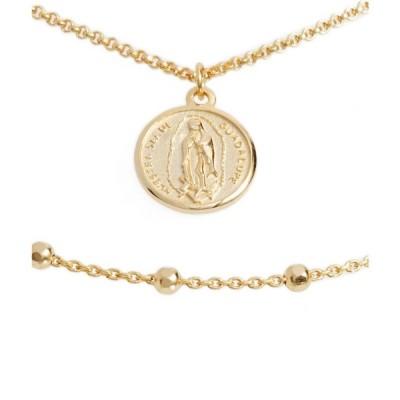 アルジェントヴィーヴォ ARGENTO VIVO STERLING SILVER レディース ネックレス ジュエリー・アクセサリー Argento Vivo Guadalupe Multistrand Necklace Gold