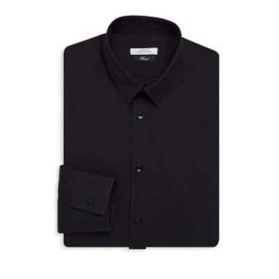 ヴェルサーチ Men Clothing Button-Front Dress Shirt