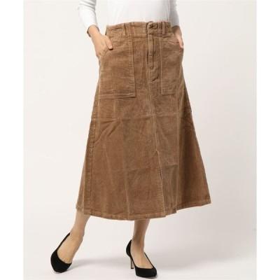 スカート コーデュロイスカート