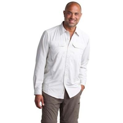 エクスオフィシオ ExOfficio メンズ トップス Exofficio BugsAway Viento L/S Shirt Bone