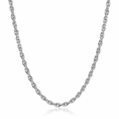 """PORI JEWELERS 14K Gold 1.5MM, 2MM, 2.5MM, 3MM, 4MM, 5MM or 7MM Diamond Cut Rope Chain Necklace, Bracelet, or Anklet - Sizes 7""""-3"""
