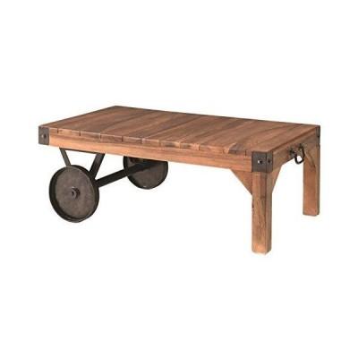 サイドテーブル(トロリー型テーブルS) 木製/アイアン TTF-117 生活用品 インテリア 雑貨 [並行輸入品]