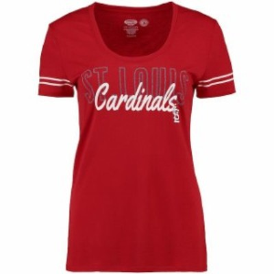 Concepts Sport コンセプト スポーツ 寝間着  Concepts Sport St. Louis Cardinals Womens Red Tradition Short Sleeve T-Shirt