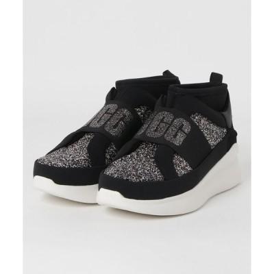 スニーカー UGG Neutra Chunky Glitter Sneaker (Black Glitter)
