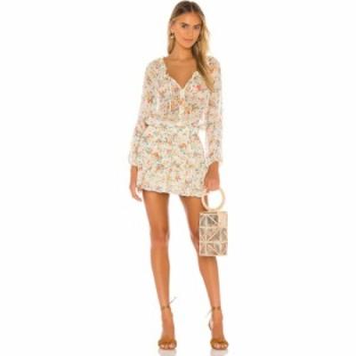 ラブシャックファンシー LoveShackFancy レディース ワンピース ワンピース・ドレス Popover Dress Floral Confetti