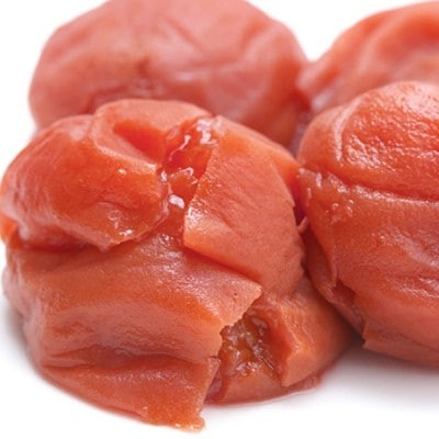 紀州南高梅 《つぶれ梅セット》 しそ漬け梅 塩分3%(1.2kg)【白浜グルメ市場】