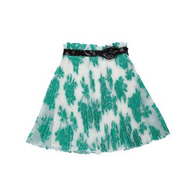 クラス ロベルト カヴァリ CAVALLI CLASS ひざ丈スカート グリーン 48 ポリエステル 86% / 金属繊維 14% ひざ丈スカート