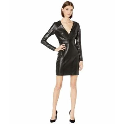 ベベ レディース ワンピース トップス Printed Scuba Slim Dress Black
