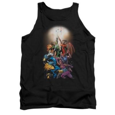 ユニセックス 衣類 トップス Green Lantern DC Comics GL New Guardians #1 Adult Tank Top Shirt タンクトップ