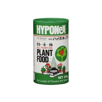 【園芸用品・肥料】HYPONeX(ハイポネックス) 微粉ハイポネックス 120g 4977517003038 1セット(3個入)(直送品)