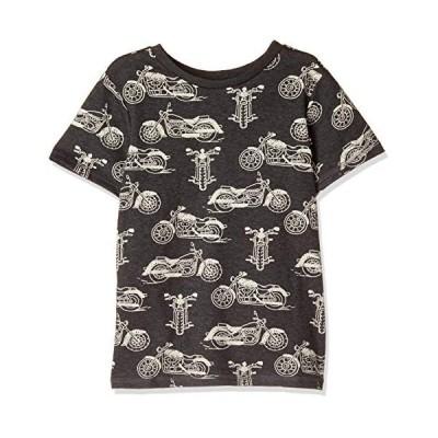 Hatley ボーイズ半袖Tシャツ ボーイズ バイク モーターサイクル グラフィックTシャツ Kids Boys Apparel Motor