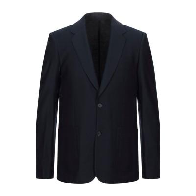 SANDRO テーラードジャケット ダークブルー 46 ウール 100% テーラードジャケット