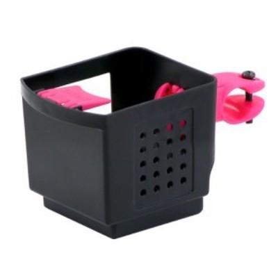 オージーケー技研 ドリンクホルダー PBH-003黒ピンク 自転車用