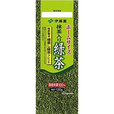 【送料無料】伊藤園 ホームサイズ 抹茶入り緑茶 130g