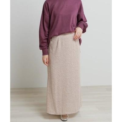 スカート フラワーペタルナロースカート
