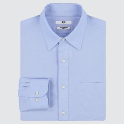 スーパーノンアイロンスリムフィットシャツ(レギュラーカラー・長袖)