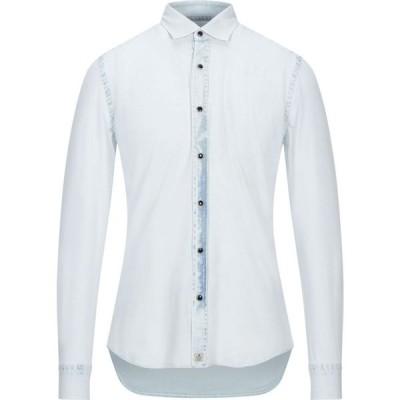 ソンリーサ SONRISA メンズ シャツ トップス solid color shirt Sky blue