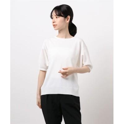 Te chichi / バックパール釦ボリューム袖プルオーバー WOMEN トップス > ニット/セーター