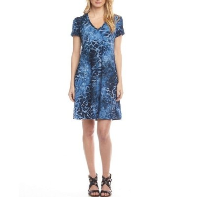 カレンケーン レディース ワンピース トップス Quinn Jacquard Tie-Dye Pocket Dress Tie Dye