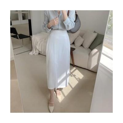 MINIBBONG レディース スカート Lily strap long skirt
