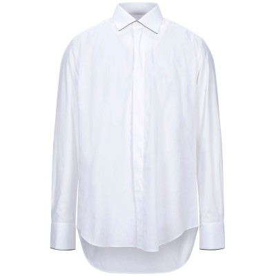 PAL ZILERI CERIMONIA シャツ ホワイト 43 コットン 100% シャツ