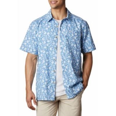 コロンビア メンズ シャツ トップス Super Slack Tide Camp Shirt Skyler Marlin Palms