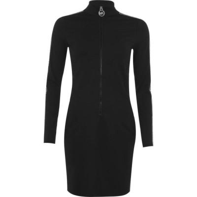 マイケル コース MICHAEL Michael Kors レディース ワンピース ミニ丈 ワンピース・ドレス Mmk Logo Mini Dress Black