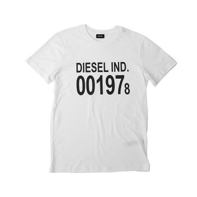 【ディーゼル】DIESEL T−DIEGO−001978 ディーゼル プリント Tシャツ 00SASA−0AAXJ