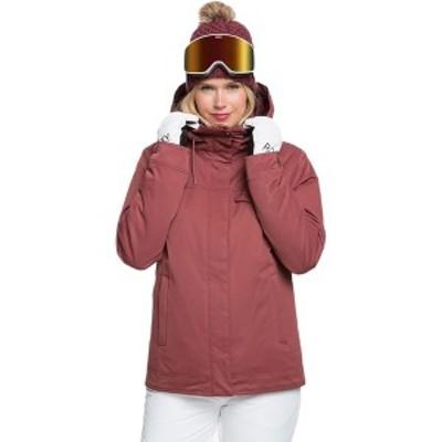 ロキシー レディース ジャケット&ブルゾン アウター Billie Hooded Insulated Jacket - Women's Oxblood Red