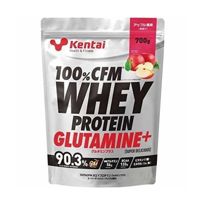 Kentai(ケンタイ) 100%CFMホエイプロテイン グルタミンプラス スーパーデリシャス アップル風味 K223