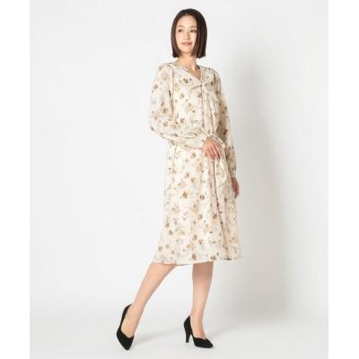 【ミューズ リファインド クローズ】 2WAY柄ねじりワンピース レディース アイボリー M MEW'S REFINED CLOTHES