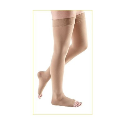 mediven Comfort, 30-40 mmHg, Thigh High Compression Stockings, Open Toe