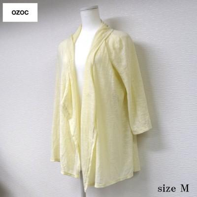 OZOC(ワールド) トッパーカーディガン クリーム M