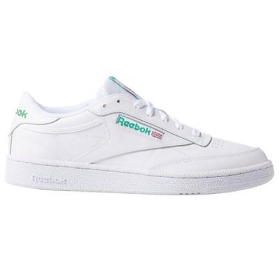 リーボック スニーカー メンズ シューズ Reebok classics Club C 85 Int-White / Green