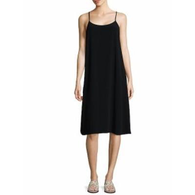 アイリーンフィッシャー レディース ワンピース Crinkle Crepe Camisole Dress