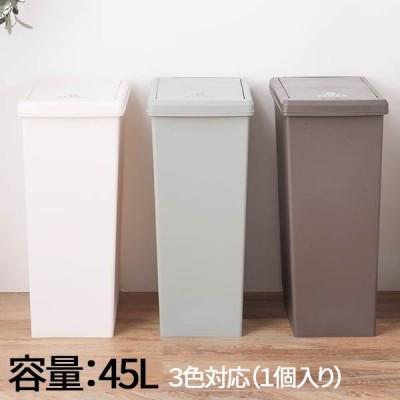 ゴミ箱 ふた付き 45リットル 45L スリム ダストボックス キッチン 台所 蓋付き フタ付き シンク シンクサイド スライドペール45L