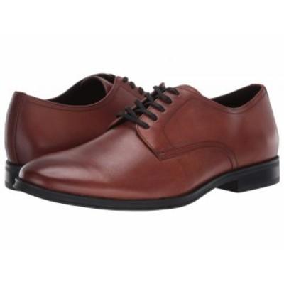 Calvin Klein カルバンクライン メンズ 男性用 シューズ 靴 オックスフォード 紳士靴 通勤靴 Wilbur Tan Crust Leather【送料無料】