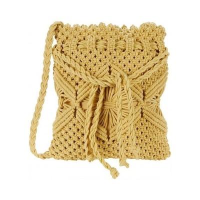 Nanette Lepore ナネットレポー レディース 女性用 バッグ 鞄 バックパック リュック Macrame Crossbody - Butter