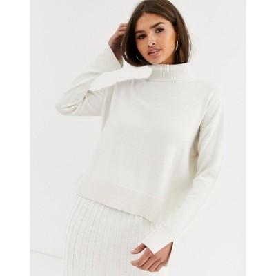 ミチャラウンジ レディース ニット・セーター アウター Micha Lounge Luxe rollneck sweater coord in wool blend