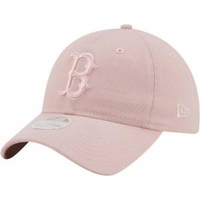 ニューエラ レディース 帽子 アクセサリー New Era Women's Boston Red Sox Pink Core Classic 9Twenty Adjustable Hat