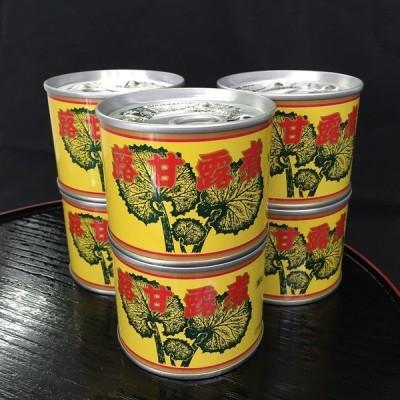 山ふきの甘露煮 国産 無添加 6号缶(内容量170g) 6缶セット 創業明治20年山形佐藤商店製