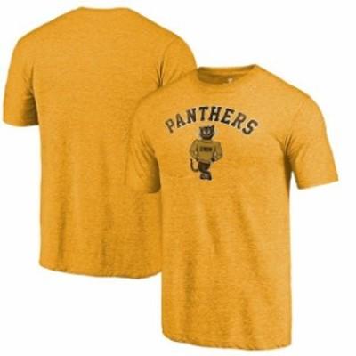 Fanatics Branded ファナティクス ブランド スポーツ用品  Fanatics Branded Wisconsin-Milwaukee Panthers Gold Vault Arch Over Logo T