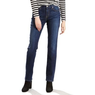 リーバイス LEVI'S レディース ジーンズ・デニム ボトムス・パンツ 505 Straight Leg Jeans SLEEK BLUE