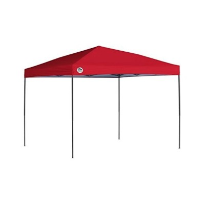 Quik Shade 10 x 10 ft. Straight Leg Canopy, Red【海外正規品】